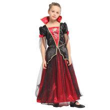Хэллоуин фантазия костюм вампира для девочек детский карнавальный