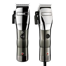 850541a70 Cord/sem fio máquina de cortar cabelo elétrica profissional aparador de  pêlos homens ajustável cortador de cabelo máquina de cor.