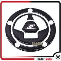 For KAWASAKI Z1000 Z1000SX Z800 Z750 Z250 Motorcycle Accessories 3D Carbon Fiber Tank Gas Cap Pad