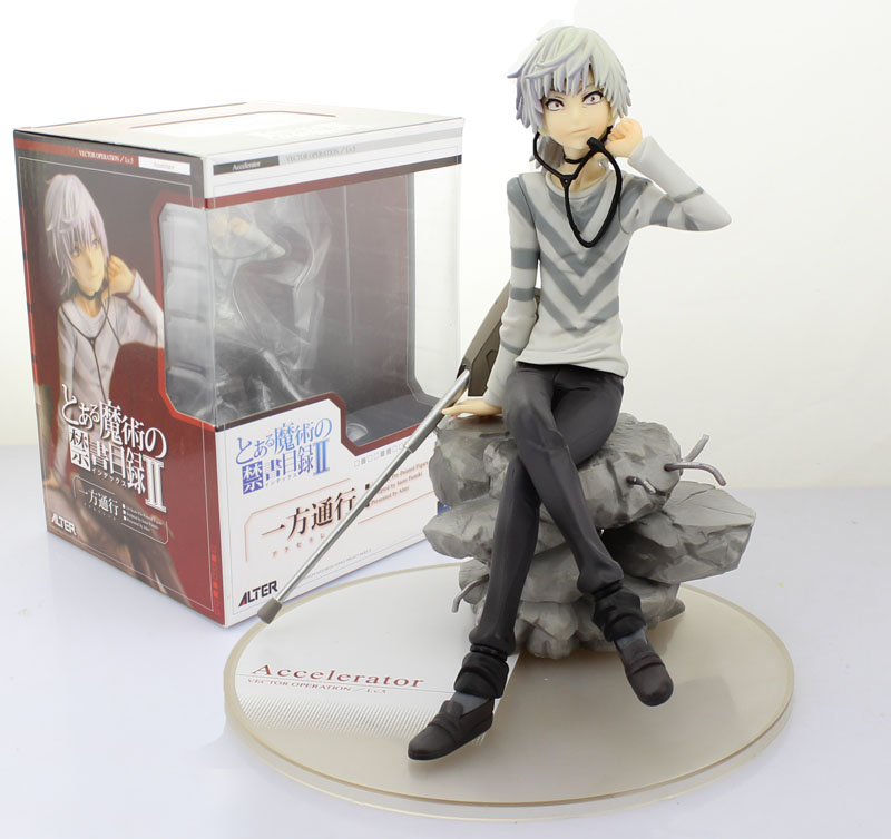 Free Shipping 7 A Certain Magical Index Anime To Aru Majutsu no Index Accelerator PVC Action Figure Collection Model Toy Gift free shipping super big size 12 super mario with star action figure display collection model toy