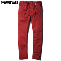 MISNIKI New autumn men cargo pants comfortable straight casual army work pants 4 colors 28-38 JPCK14