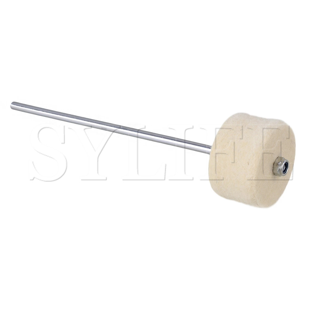 190MM Stainless Steel Handle Felt Bass Drum Beater For Any Music Style