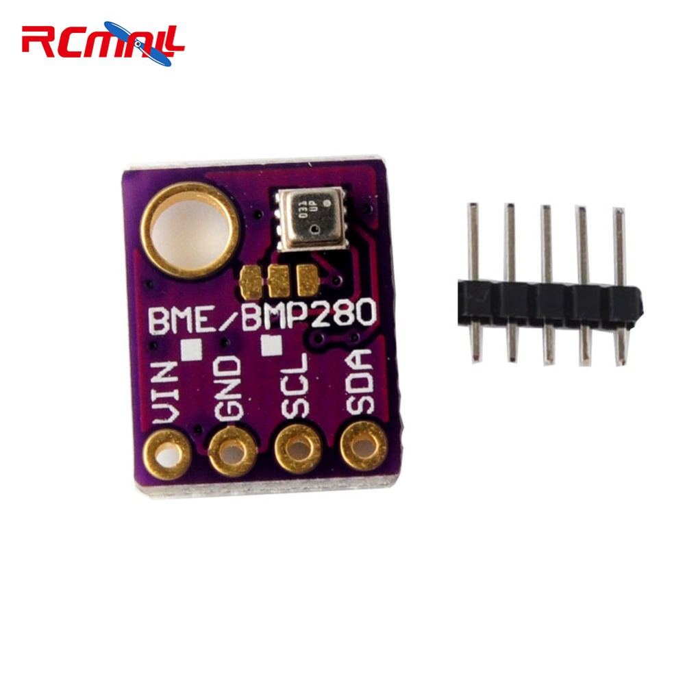 RCmall BME280 Pressure Humidity Temperature Barometric Pressure Altitude Sensor Module with IIC I2C for Arduino FZ1639 2 channel speed sensor module for arduino works with official arduino boards