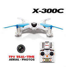 MJX X300C FPV RC Drone 2.4G Headless Mode RC UAV Quadcopter with Built-in HD Camera Support Real-time Video