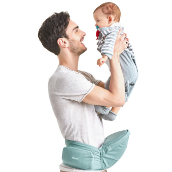 Bethbear Baby Carriers Infant Hip Seat Toddler Waist Stool Carrier Multifunctional Front Facing Comfortable Pouch Wrap Kangaroo 1