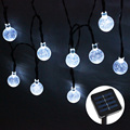 High Quality 30 LED Solar Powered String Light Outdoor Garden Yard Festival Party Wedding Decoration Led light Lamp