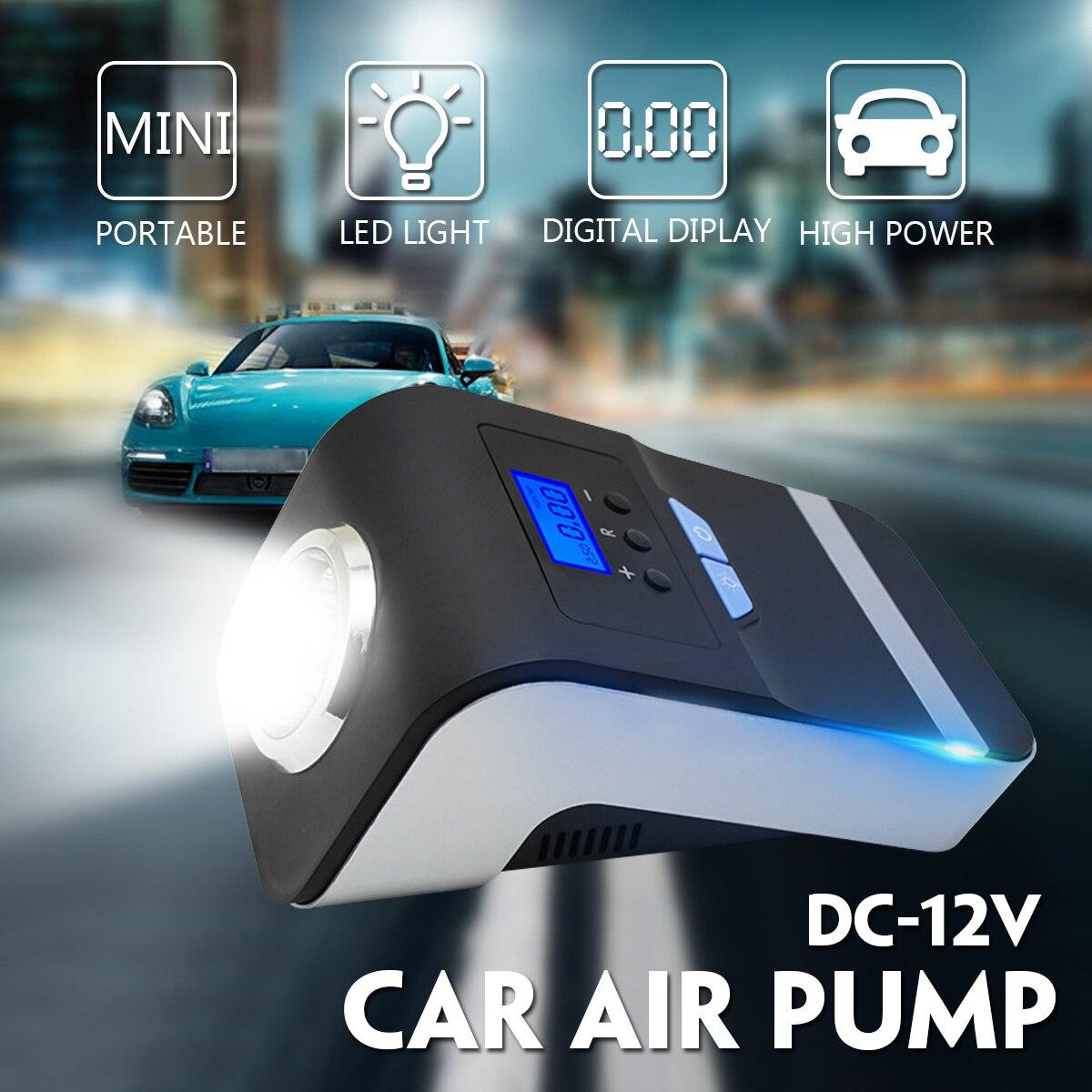 1 шт. 120 Вт Портативный насос воздушный компрессор Давление переключатель светодиодный автомобиля 12 В Duty Мощный насос автоматически воздуха