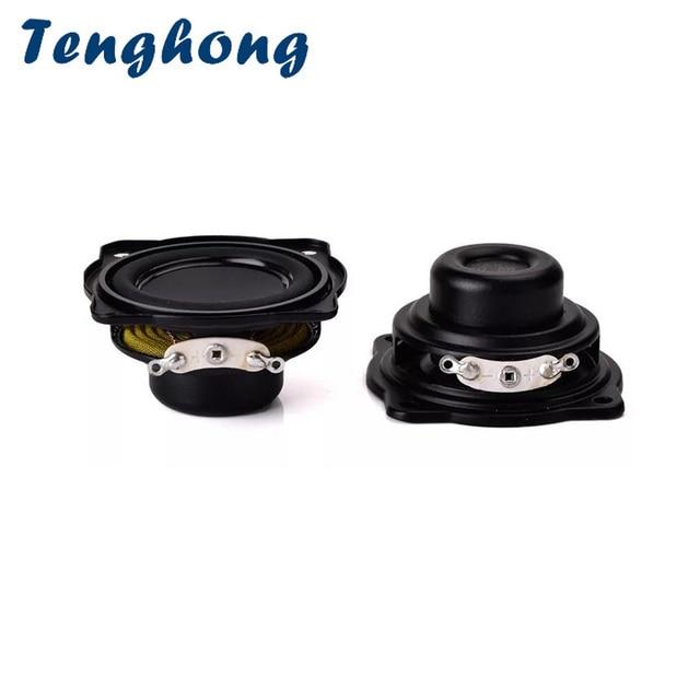 Tenghong 2 pcs 4Ohm 5 W 43 MM Waterdichte Luidspreker Full Range Speaker Magnetische Audio Draagbare Speaker Stereo Box Accessoires DIY