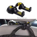 2pcs Car Styling Seat Back Pothook For Opel Astra H G J Insignia Mokka Corsa Renault Duster Iaguna Megane 2 Logan Clio Captur
