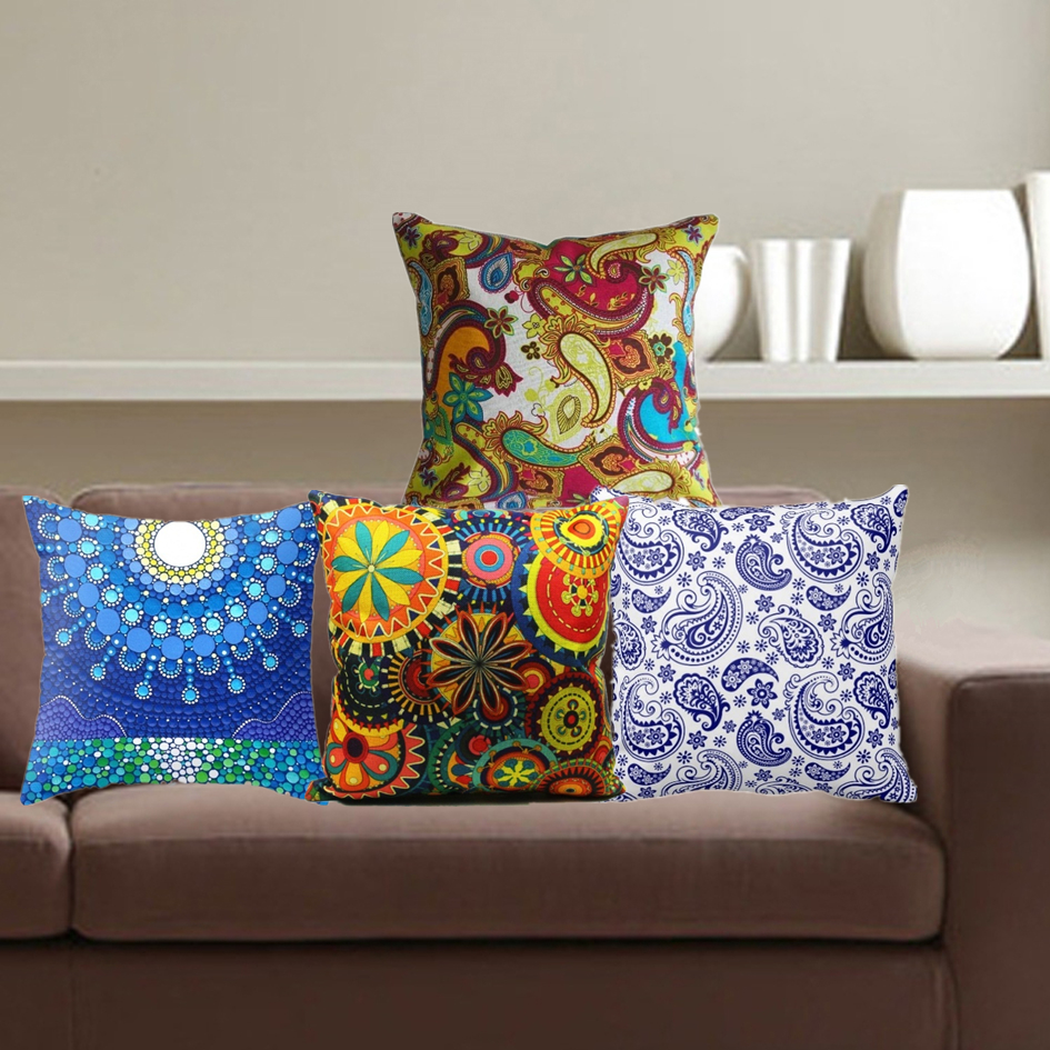 2016 Promotion Rushed Fashion Bohemian Cushion Cover Paisley Pillowcase Geometric Sofa Now Home Decorative Throw Pillow Cover