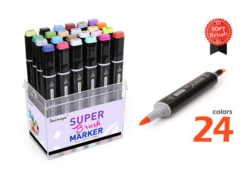 sketch marker pens