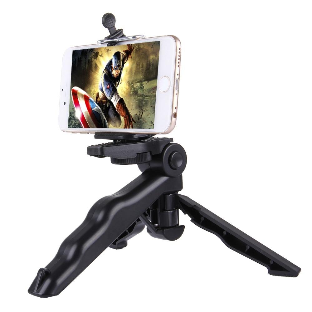 PULUZ Grip Plegable trípode con adaptador y tornillos para GoPro - Cámara y foto - foto 3