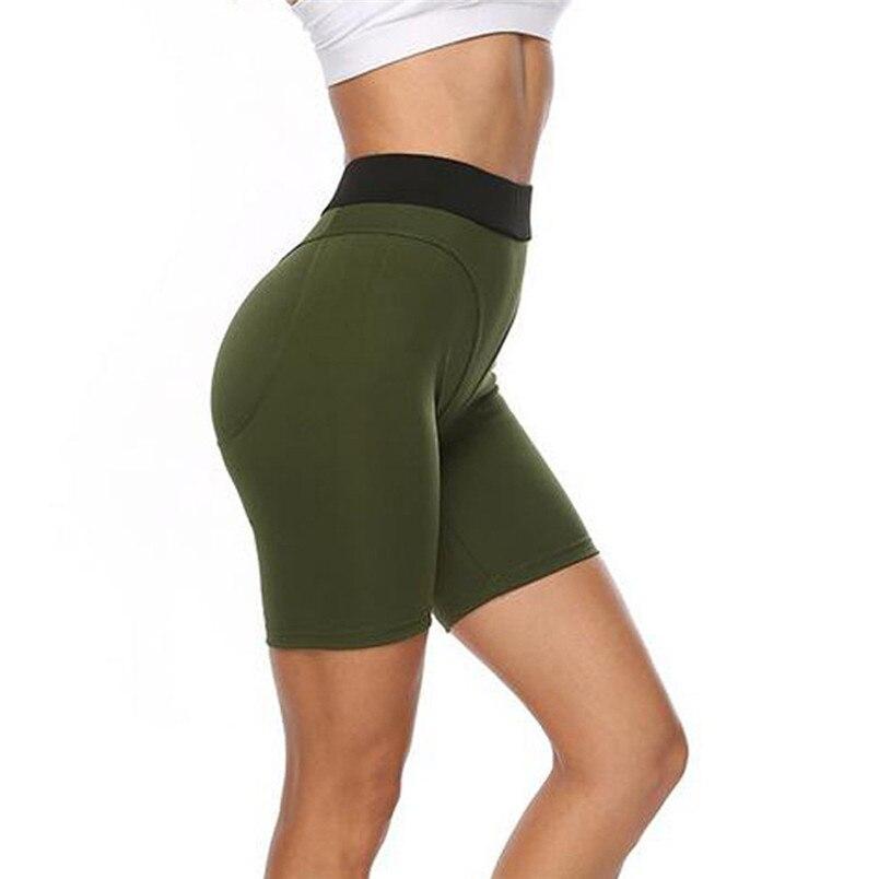 Sport Accessories Women Sexy Yoga Leggings High Waist Slim Solid Short Leggings Sport Fitness Short Sport 40MY24 (16)