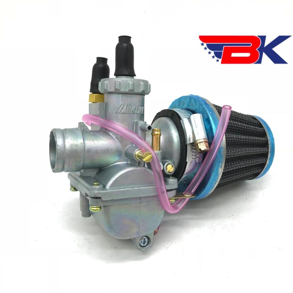 carburetor w air filter for suzuki ax100 kawaski qj100 m 2 100cc scooter motorcycle [ 1000 x 1000 Pixel ]
