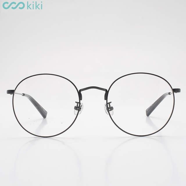 4530276960 KIKI Eye Glasses Metal Retro Round Frame Women Men Eyeglasses Frames Clear  Lens oculos de grau