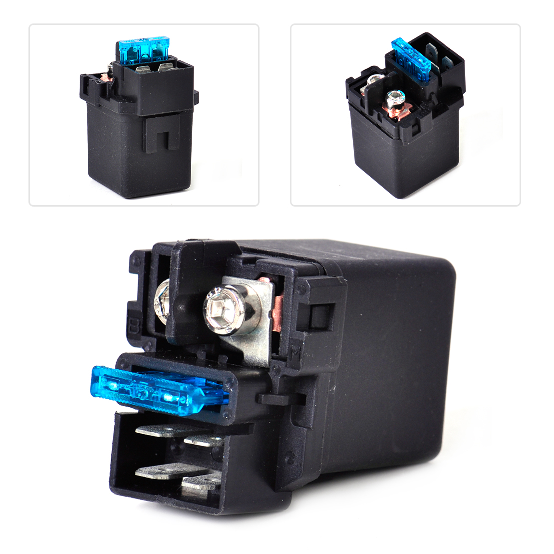 Motorcycle Starter Relay Solenoid fit for Kawasaki ZX1400 Ninja ZX-14 ZX1000 Ninja ZX-10R ZX636 Ninja ZX-6R 600 ZZR600 VN2000