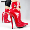 2017 Arrive High-Heeled Shoes Woman Pumps Dance/Party Shoes Ankle Strap Fashion Women Sexy Brand Leather Thin High Heels Pumps