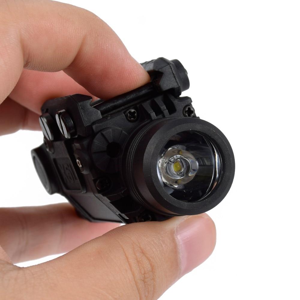 2in1 tatico x5l led lanterna combo verde 04