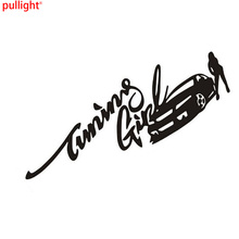 29*10CM Speed And Passion Beauty Fashion Creative Car Body Stickers Personalized Reflective