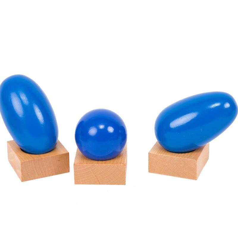 Montessori matériaux sensoriels géométrique solides Montessori jouets éducatifs d'apprentissage pour les tout-petits Juguetes Brinquedos MG1264H - 2