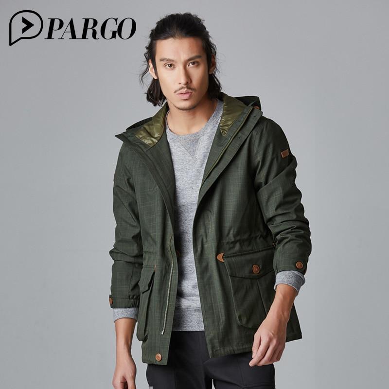 цены на PARGO Outdoor Hiking Camping Clothing Men Windproof for Spring Autumn Windbreaker gore-tex  Softshell Waterproof Jacket M9029 в интернет-магазинах