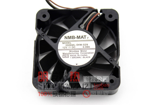 5015 5 cm 5 cm 2006ml-04w-s29 fan 3 pin 12 V 0.08A mudo