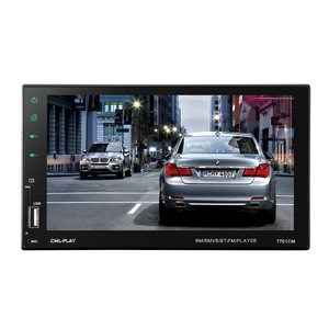 Image 3 - HEVXM 7701 2 Din Touch Screen Car MP5 Player  Universal Auto Radio Stereo Car Audio Video Multimedia Player  Mirror link