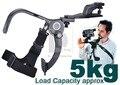 Acessórios fotografia Conveniente Beike Mão Livre DV Shoulder Pad Suporte 5 KG para Filmadora DV Vídeo DSLR Camera PK043