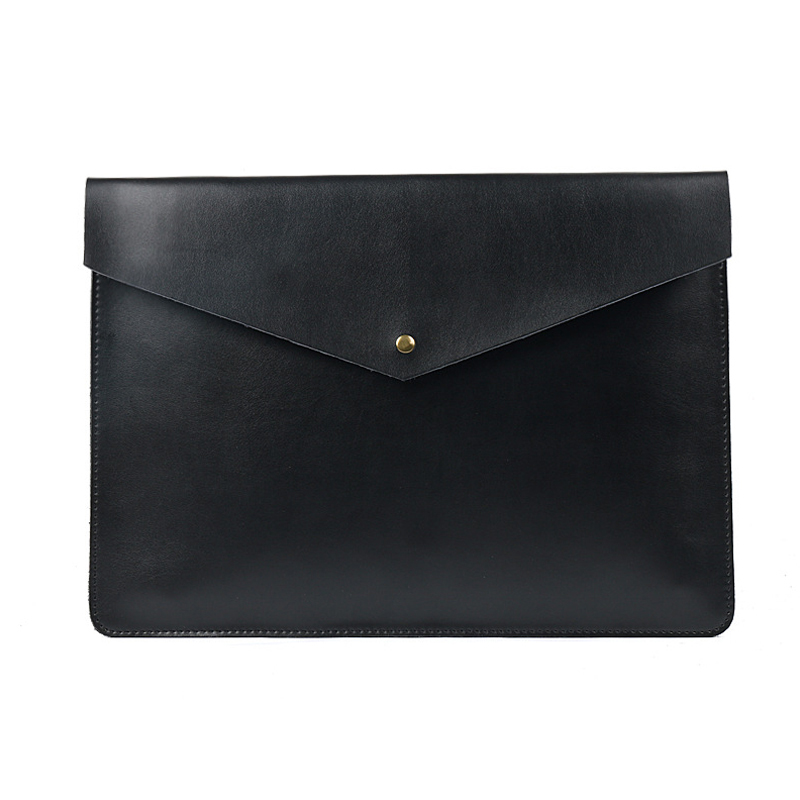 A4 Document Holder Nature Leather File Folder for Documents Bag Case With Buckle Paper Storage Office School Filing Supplies soft document bag waterproof pu leather file folder document filing bag office supplies 25 35 cm