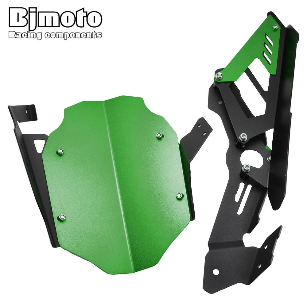 BJMOTO Motorcycle CNC Aluminum Rear Fender and Chain Cover For Kawasaki ninja 400 ninja400 2018-2019