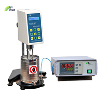 Brand NIRUN High temperature viscometer Digital Rotational Viscosity meter Hot melt adhesives Asphalt Molten material
