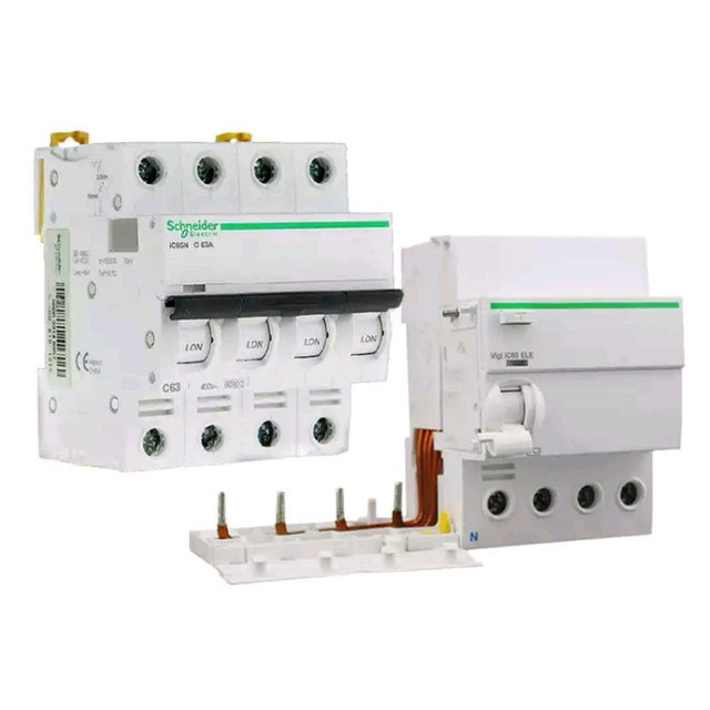 Schneider circuit breakers A9 IC65N 4P50A fifth generation home ...