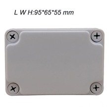 цена на High Quality 95mm x 65mm x 55mm Waterproof Plastic Enclosure Junction Box Holder