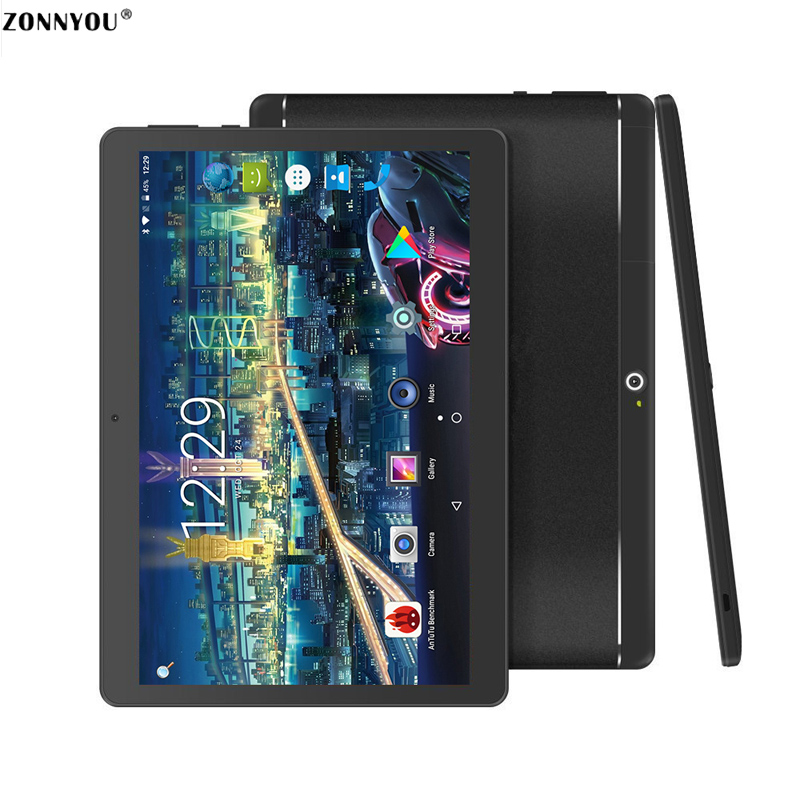 10.1 Inch Original 3G Phone Call Tablet 3G SIM Card Android 7.0 Octa Core 4GB-64GB Wi-Fi FM Bluetooth Tablet PC 10 10.8