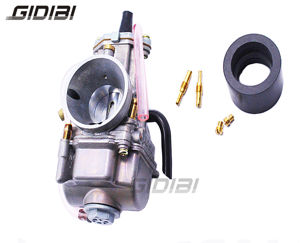 ATV Carburetor 30mm OKO 2 Stroke Racing Flat Side the PWK Carb W/ Power Jet Bike