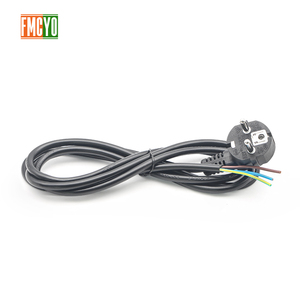 Image 4 - EU 1.8m European Standard Power Cord Bare Tail End 0.75mm2/1mm2/1.5mm2 Thick Cable For Computer/Printer/Rice Cooker