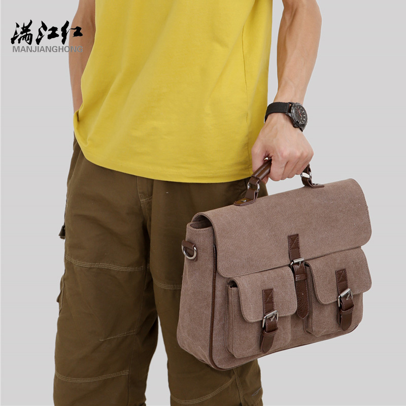 negócios bolsa do homensageiro maleta Interior : Bolso do Telefone de Pilha, bolso Interior do Zipper
