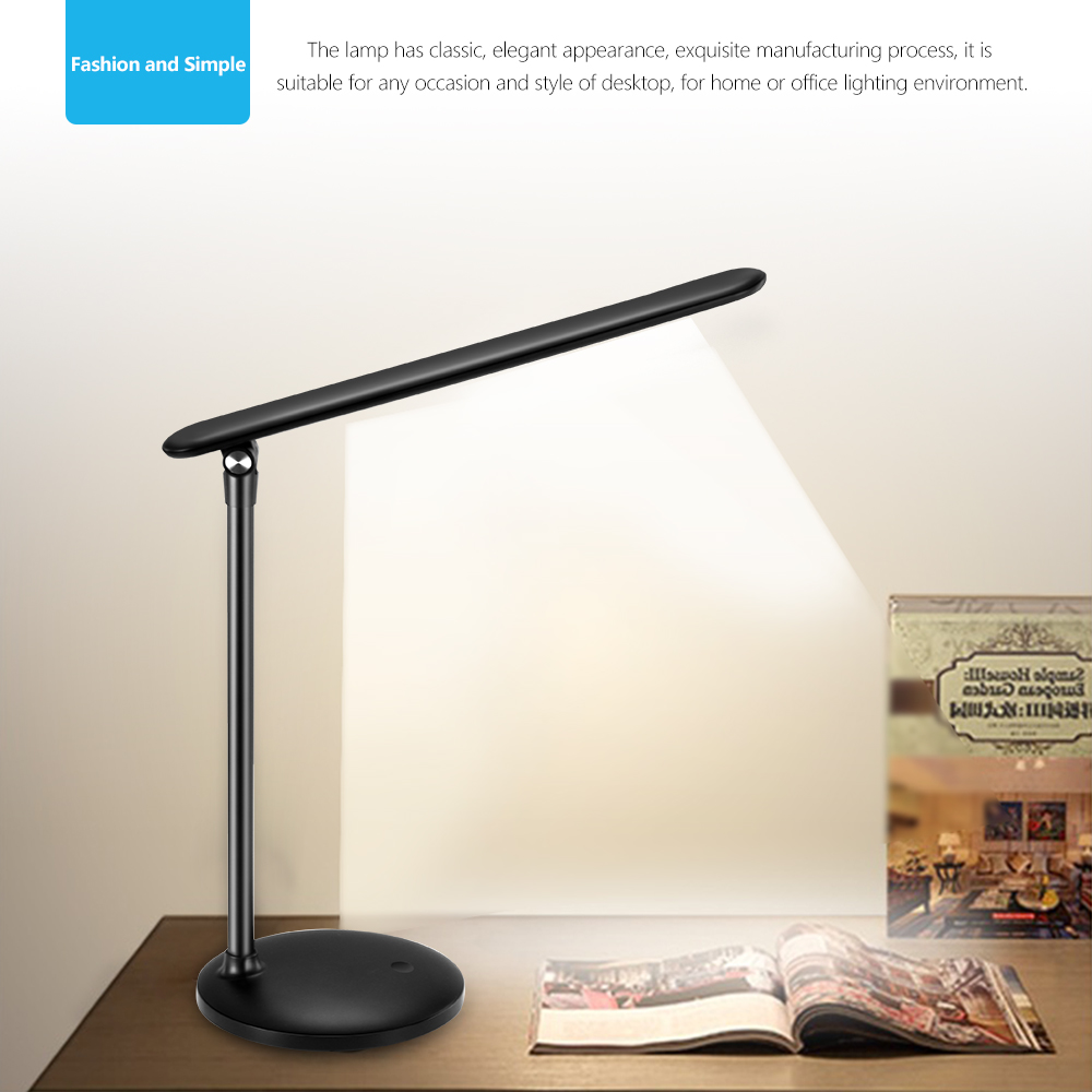 Study Table Light Eye Protect Led Table Lamp Study Desk Lamp Clamp Clip Light Office Stepless Dimmable Touch Switch In Desk Lamps From Lights Lighting On