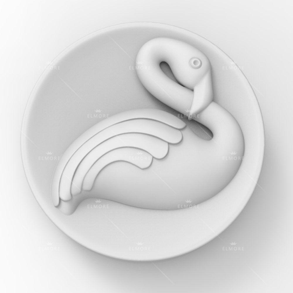 Soap Molds Silicone Craft Bird Flamingo Soap Making Mould DIY Candle Resin Mold