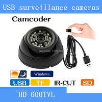 HD Security Dome Camcorder IR CCTV Camera Video Night Vision Auto Car Driving Record Recorder DVR