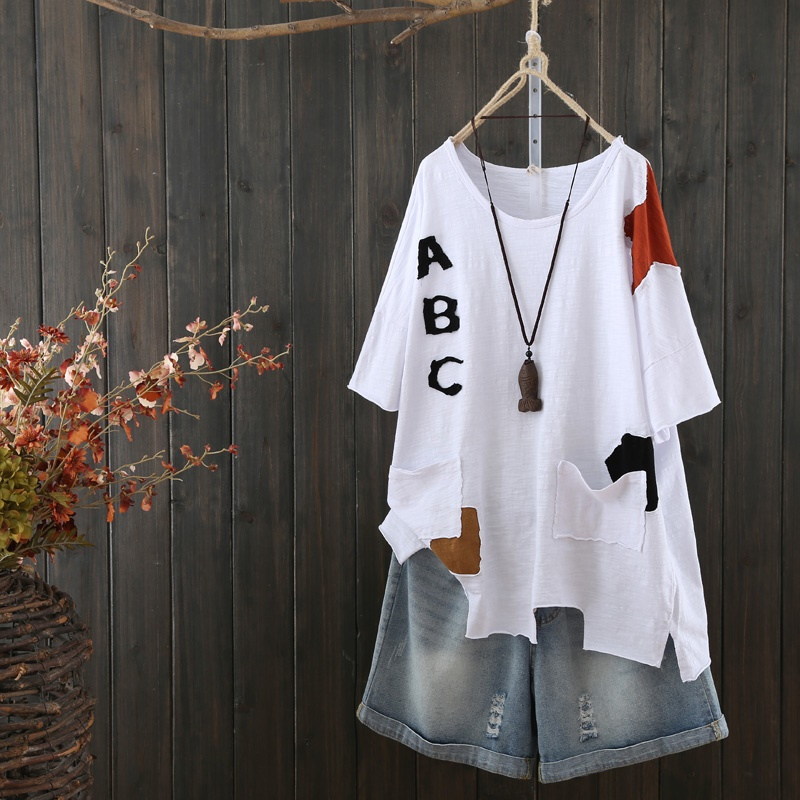 Haut pour femme été 2019 blouse orientale printemps style chinois chemise paysanne femmes hauts et chemisiers streetwear japonais AA4621