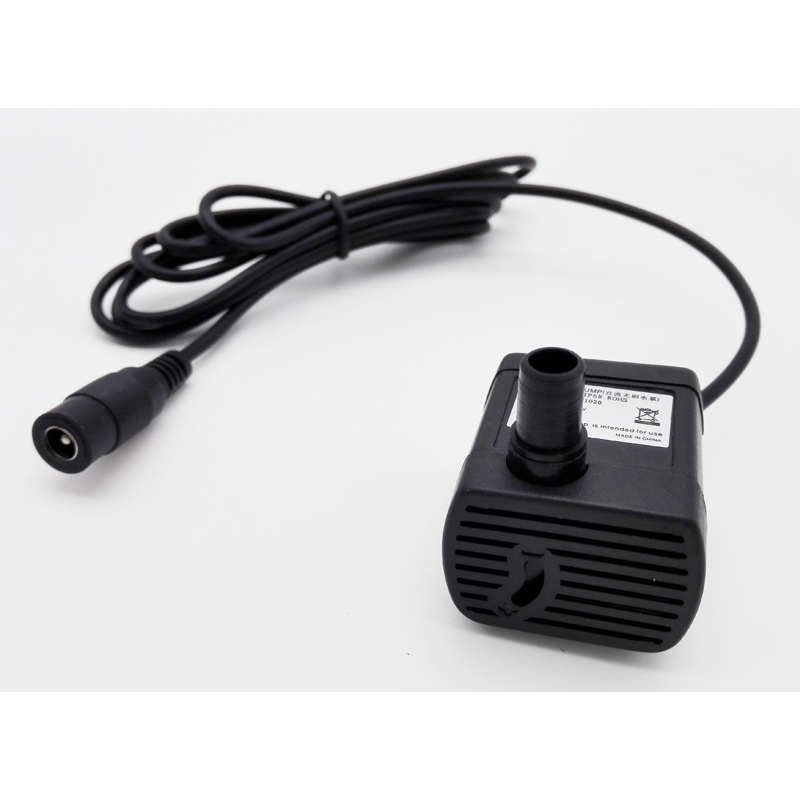 JT-1020 5.5*2.1mm Or USB Connector Brushless DC 5V 150L/h 12V 280L/h Micro Submersible Aquarium Water Pump