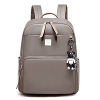 68492c245 Arsmundi New Designer Women S Backpack Wild Preppy Style Backpack Nylon  Casual Small Backpack Bear Pendant