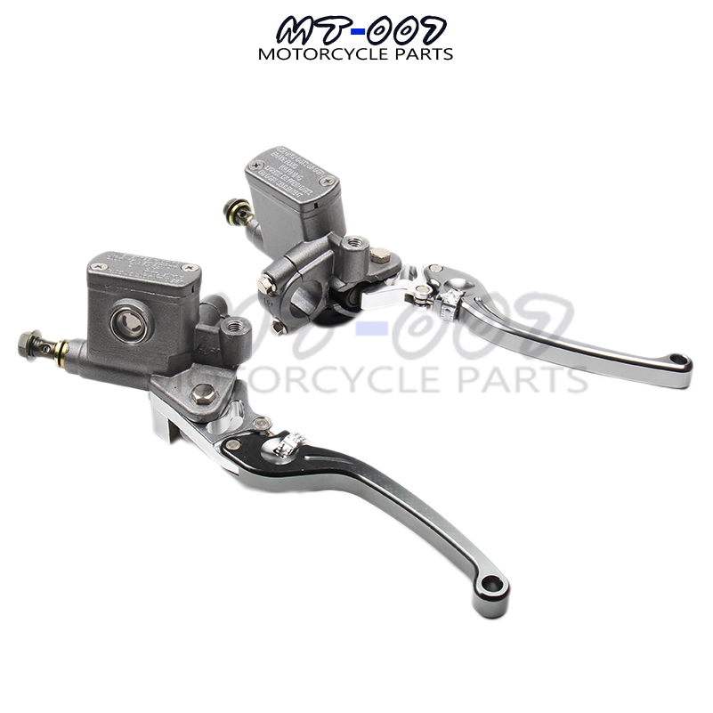 цена на Alloy Left and right Brake Pump brake master cylinder pump Fit Dirt Pit Bike ATV Quad scooter Off Road Motorcycle Free shipping