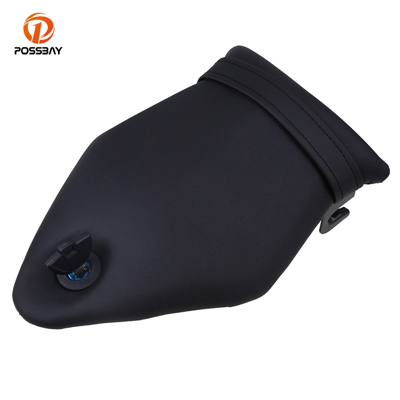 POSSBAY Motorcycle Rear Seat Passenger Rear Seat Rear Pillion Seat Cushion Cover for BMW S1000RR 2009 2010 2011 2012 2013-2017 motorcycle pillion passenger rear seat cover cowl for 2009 2014 bmw s1000rr s 1000 rr 2009 2014