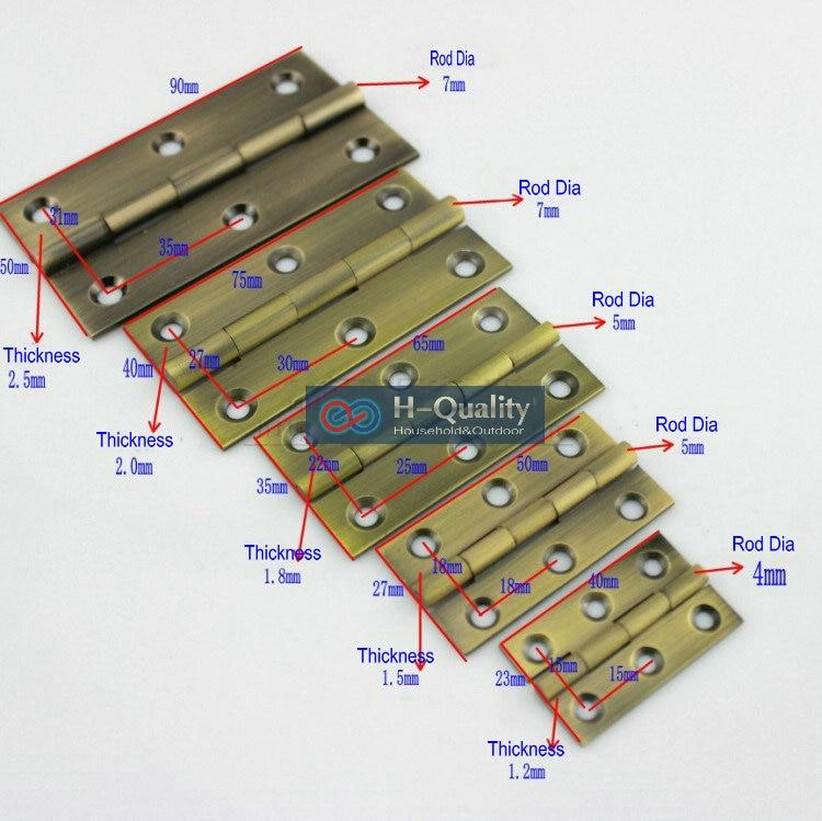 Tornillos de bronce libres 10PCS / Lot Herrajes para puertas Bronce - Mueble - foto 1