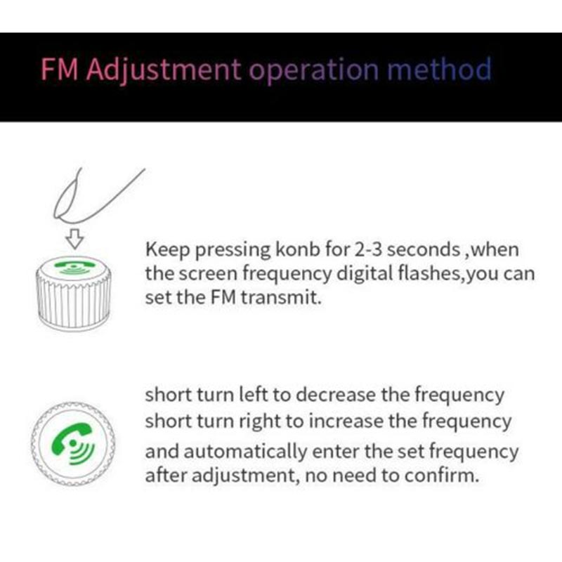 Universal Car MP3 Player Handsfree FM Transmitter QC3.0 USB Charger For iphone X XR XS Max 7 8 6 6s plus Car Charger Accessories