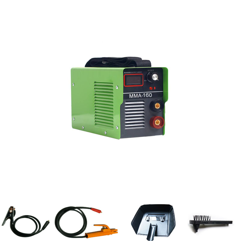 Digital Display 220V 120A IGBT Portable Household Mini Inverter DC Arc Welder MMA-160 Electric Welding Machine portable arc welder household inverter high quality mini electric welding machine 200 amp 220v for household
