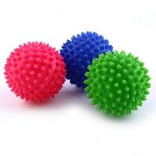 Пластиковый шар для стирки белья отлично подходит для более быстрой стирки стиральных шариков
