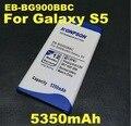 5350 mah bateria li-ion bateria do telefone móvel para samsung galaxy s5 g900s g900f g9008v 9006 v 9008 w 9006 w i9602 i9605 g9008 i9600